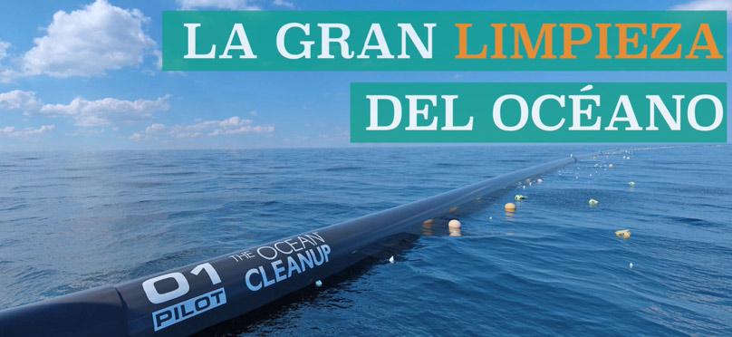 Joven propone solución para limpiar océanos