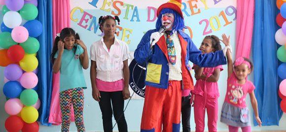 Centro Niñez Feliz. Fiesta de Reyes