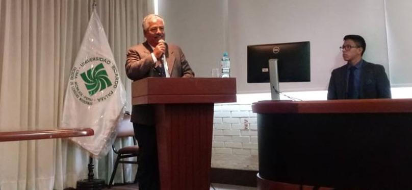 TOMAS RAMON AYBAR EN UNIVERSIDAD RICARDO PALMA